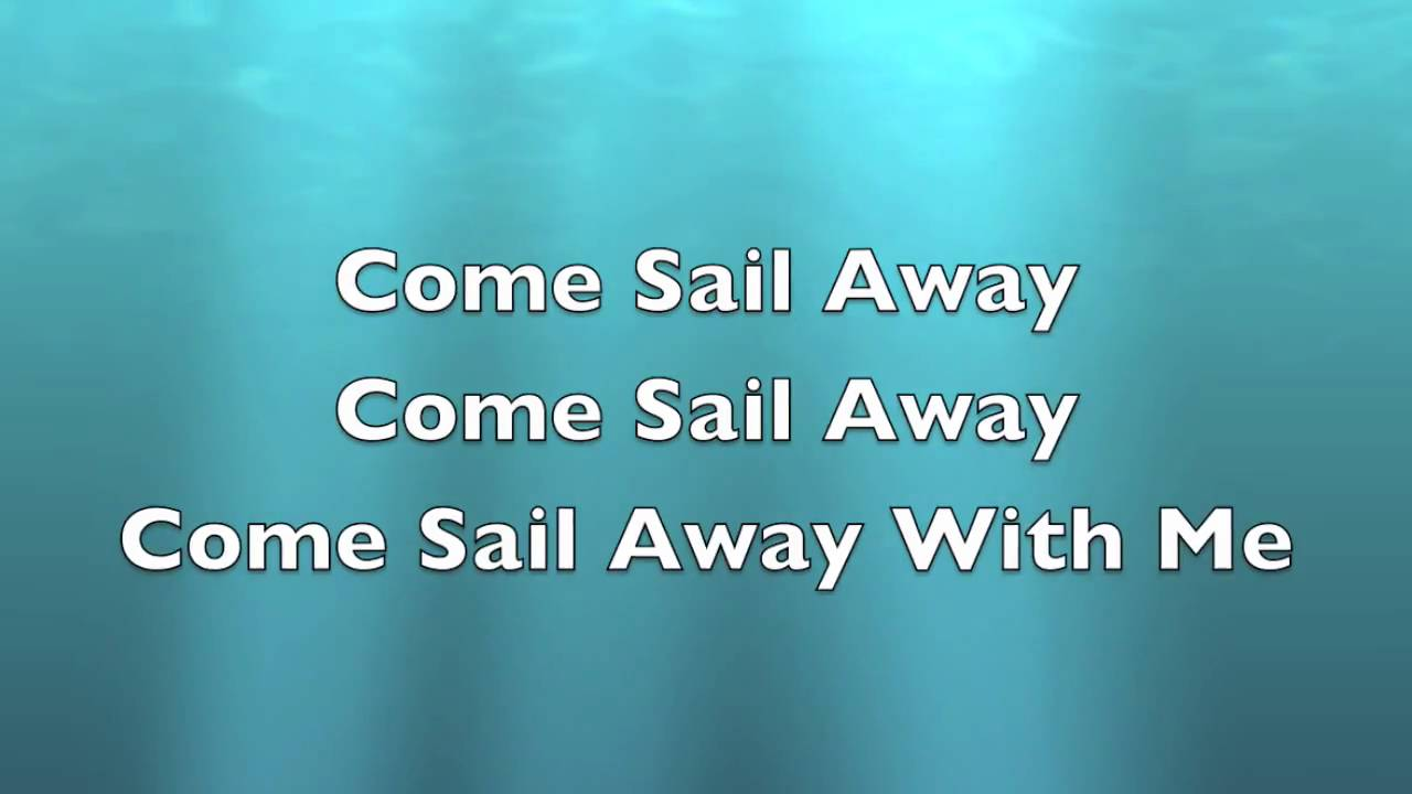 Styx Come Sail Away Lyrics (in a spaceship with aliens)