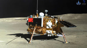 Earlier this year, there was coordination with the Chinese government regarding plans for NASA's Lunar Reconnaissance Orbiter to take images of the landing site of Chang'e 4, the robotic spacecraft shown above that China landed on the far side of the moon in January.