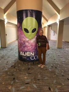 Nancy at Alien Con 2016