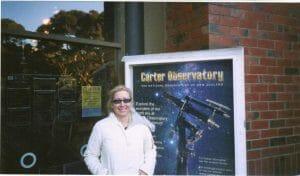 Nancy at Carter Observatory