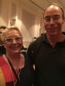 Nancy with Dr. Steven Greer