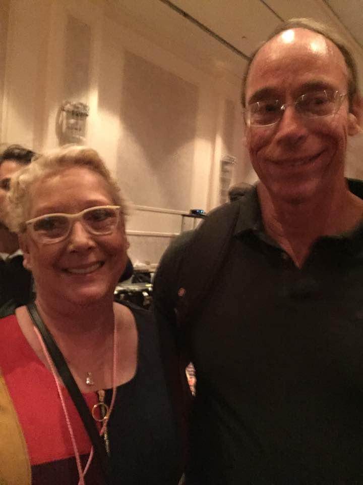 Nancy Thames with Dr. Steven Greer
