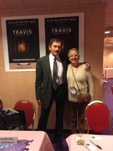 Nacy Thames with Travis Walton