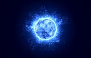 A Blue Orb spirit guide