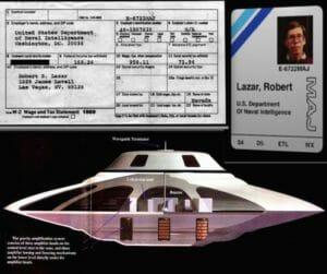Bob Lazar discloses UFO held at Area 51