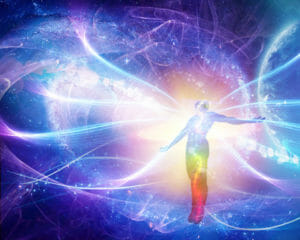 Psychic contact and travel with higher dimensional entities