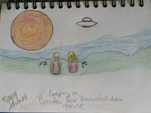 Ufo Alien encounter in Canada