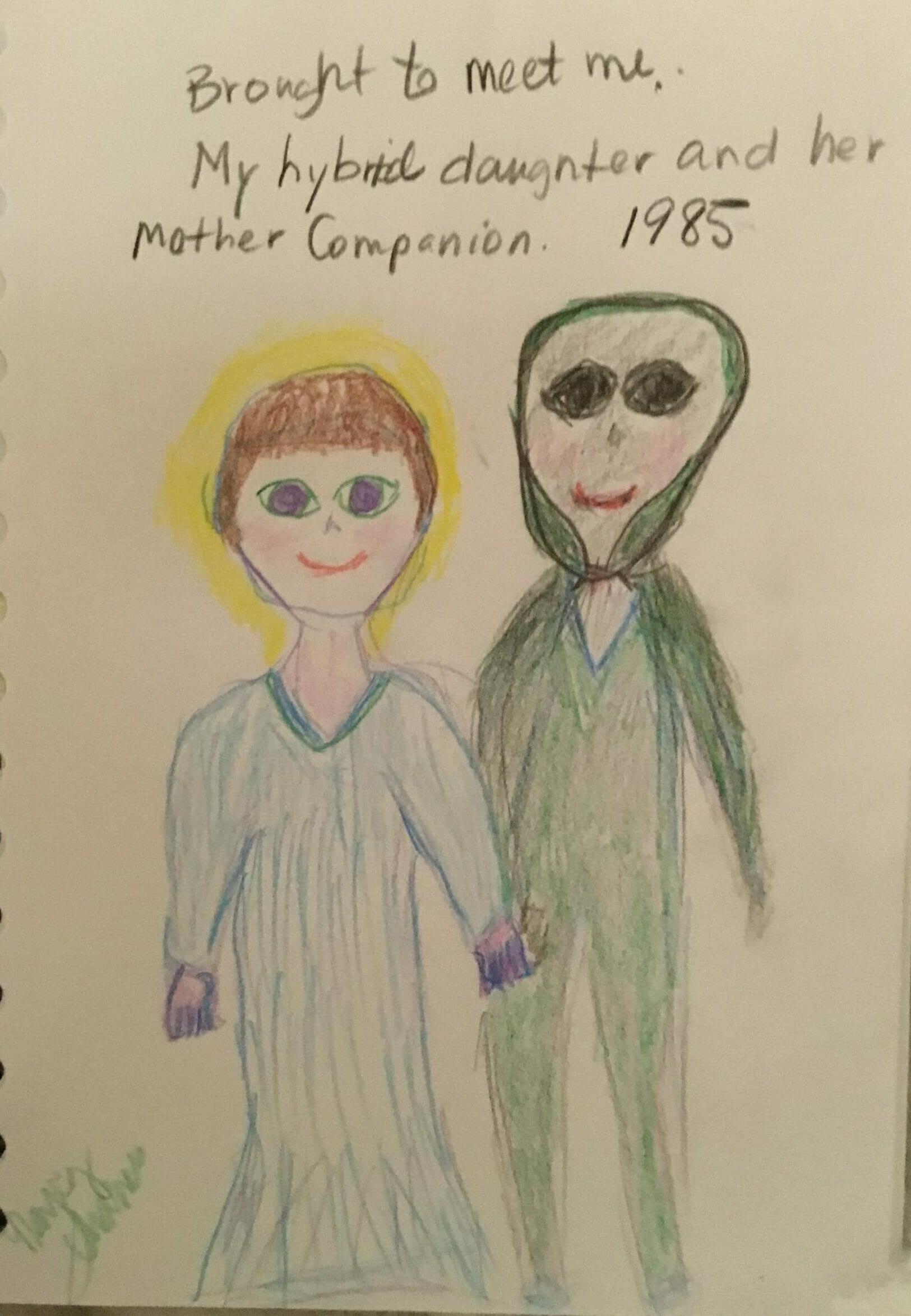 My alien human hybrid daughter