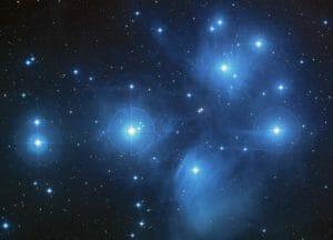Pleiades Cluster