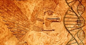 Ancient extraterrestrial Sumerian god