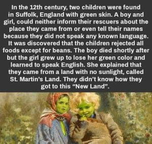 THE GREEN SKINNED CHILDREN OF WOOLPIT