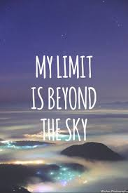 My limit is Beyond the Sky