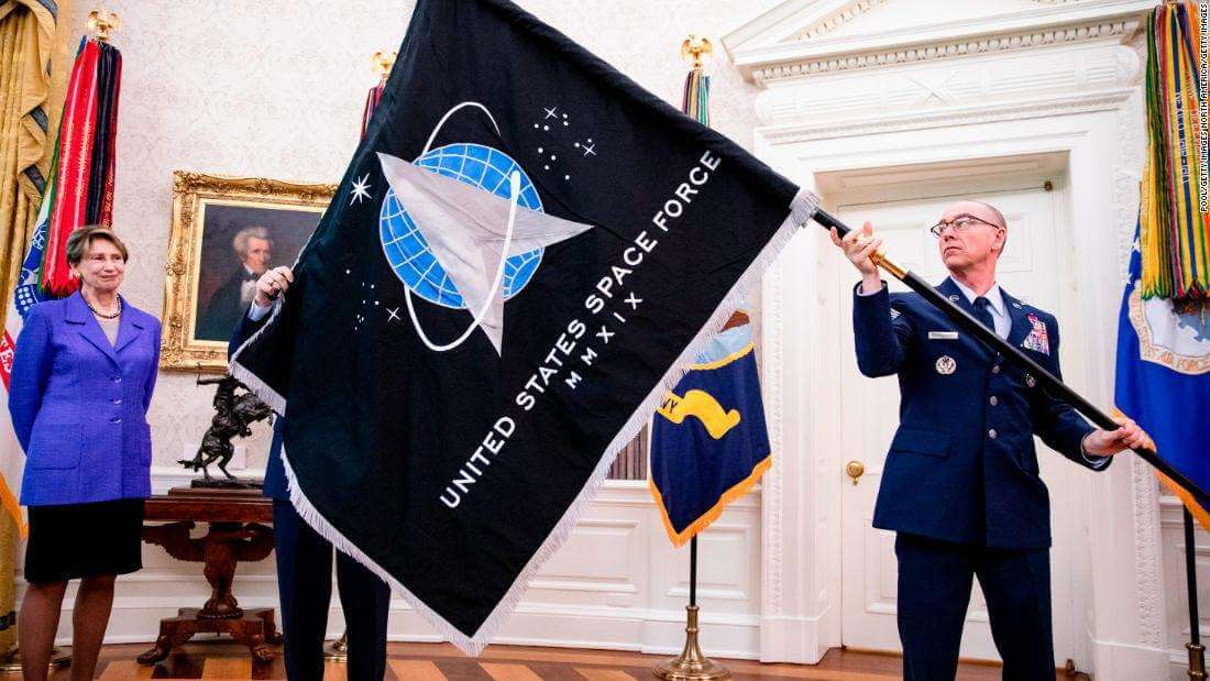 US Space Command Flag