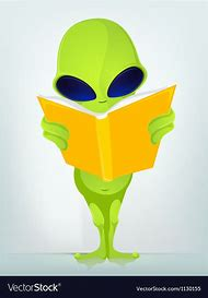 Alien Stand up Reader